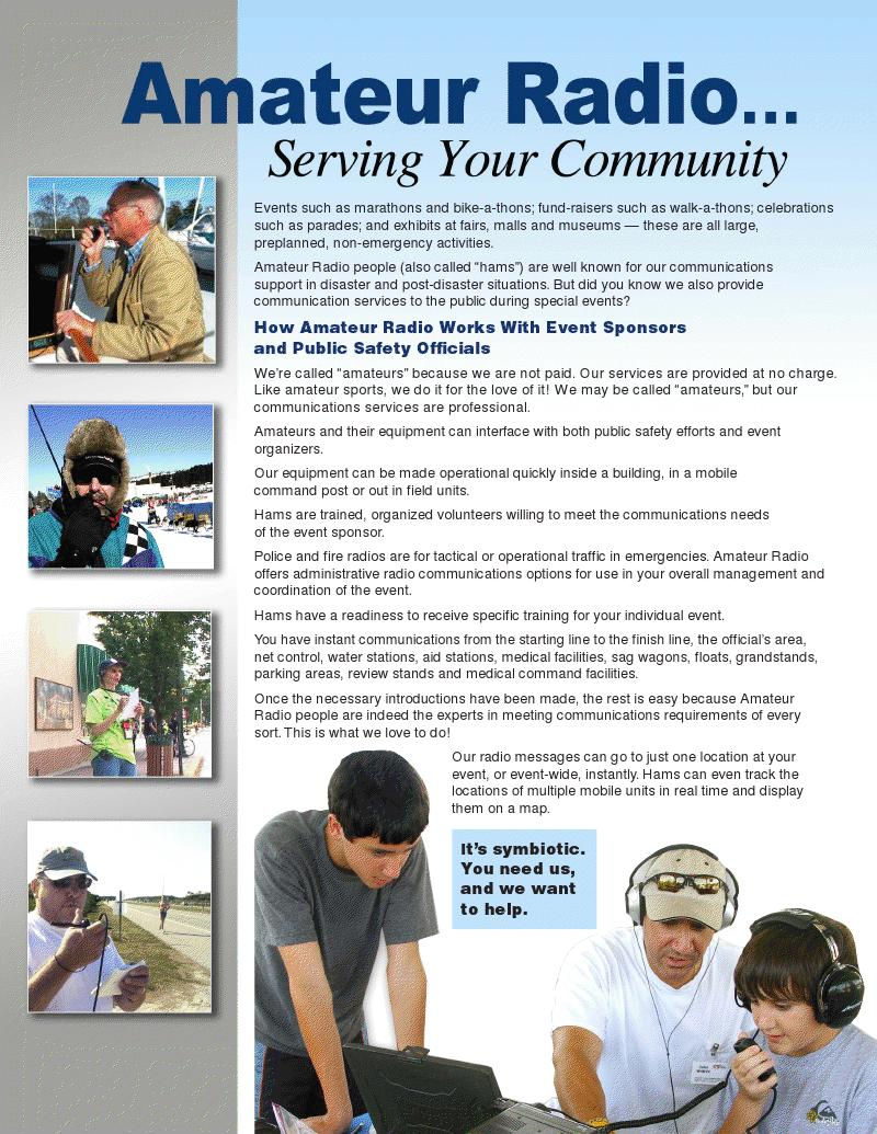 Amateur Radio...Serving Your Community