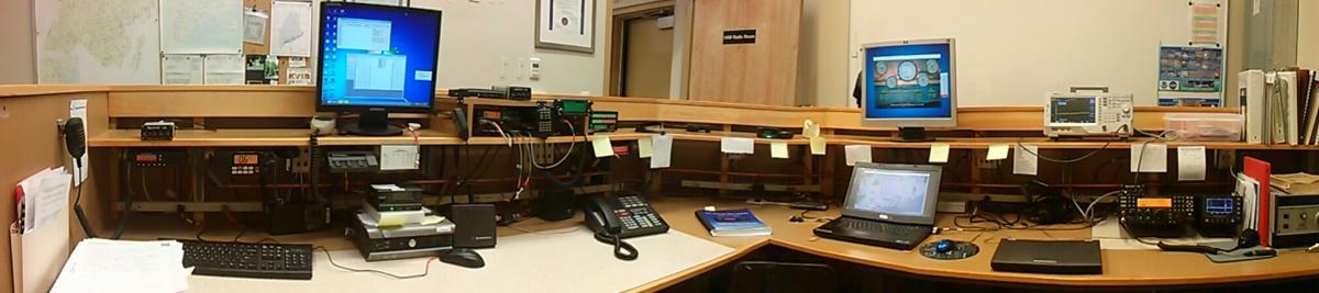 waldo county ema ham radio room